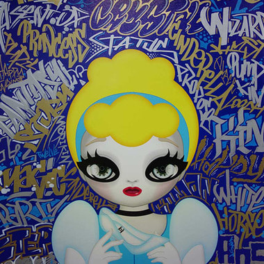 Princess Series Graffiti Mix, Cinderella, 2015