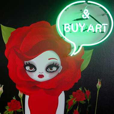 Keep Calm & Buy Art, 2014