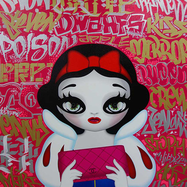 Princess Series Graffiti Mix, Snow White, 2015