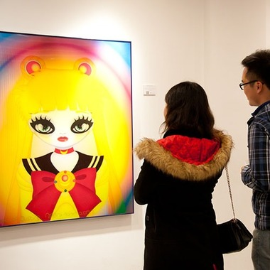 2014 Famous Eyedolls at AP Contemporary Gallery, Hong Kong